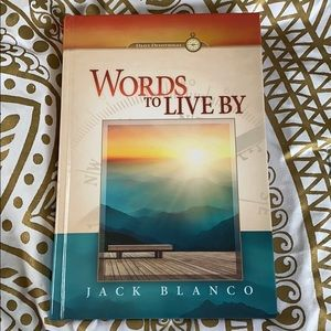 Words to Live by daily devotional book